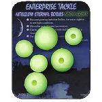 ET ETERNAL BOILIES (BLISTER PACK) - 12/15mm NITEGLOW NEON GREEN